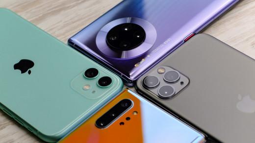 Названы лучшие камерофоны 2019 года
