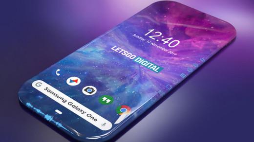 Samsung создает «смартфон-экран»