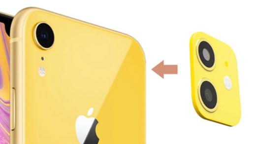 Создана накладка, «превращающая» iPhone XRвiPhone 11