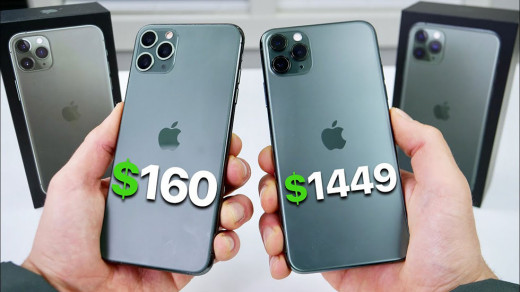 Дешевый клон iPhone 11Pro Max оказалось сложно отличить оторигинала