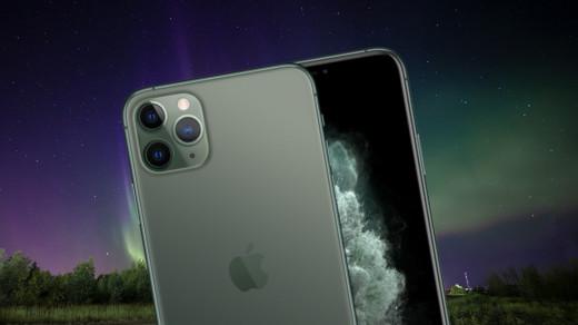 Фото дня: как iPhone 11Pro снимает северное сияние