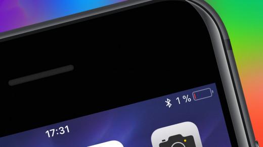 Необычный способ продлить время работы iPhone наiOS 13
