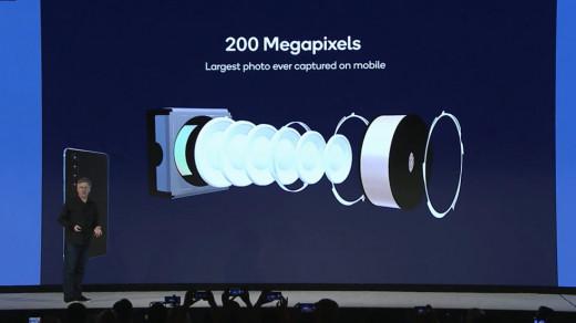 В2020 году появятся смартфоны с200Мп камерами