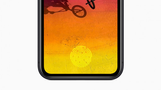 В iPhone 12появится подэкранный сканер отпечатков