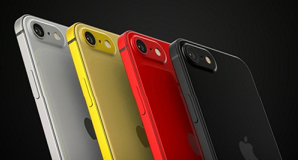 Вкаких цветах выйдет iPhone SE2