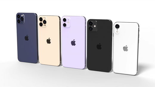 Все iPhone 2020 года показаны наодном рендере