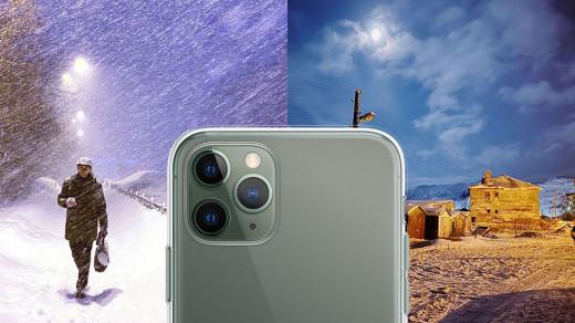 «Жизнь без солнца». Фотограф снимает 40дней тьмы вМурманске наiPhone 11Pro