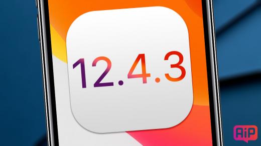 Apple запретила установку iOS 12.4.3 для старых устройств
