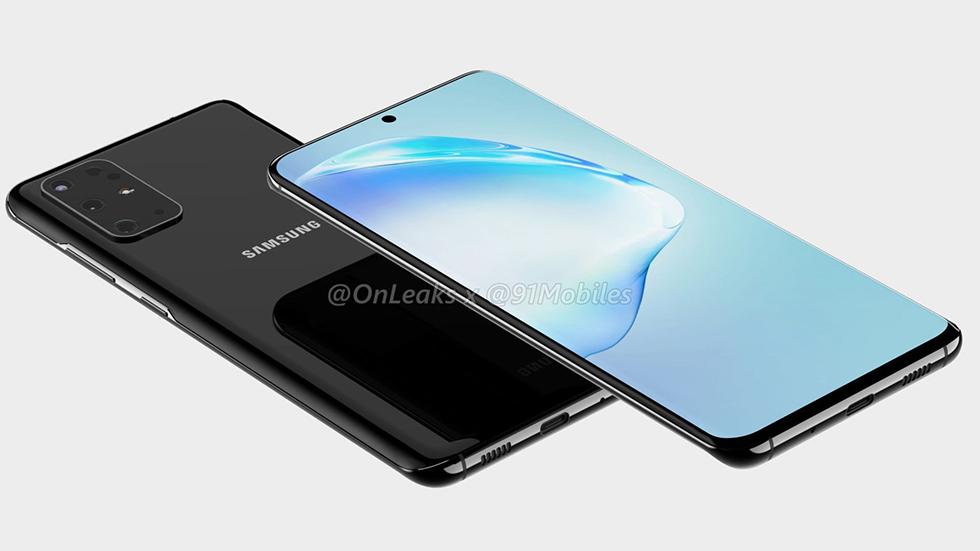 Фото дня: Samsung Galaxy S20+ 5Gсчетырьмя камерами вдухе iPhone 11Pro