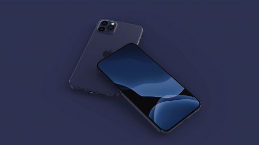 Фото дня: iPhone 12Pro выйдет вновом темно-синем цвете