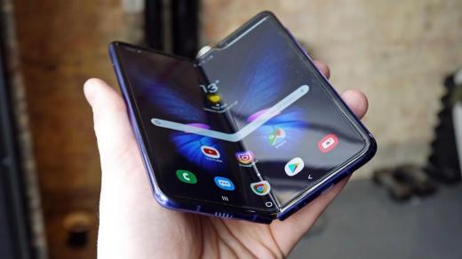 Samsung продала более 400 тысяч складных смартфонов Galaxy Fold за$2000