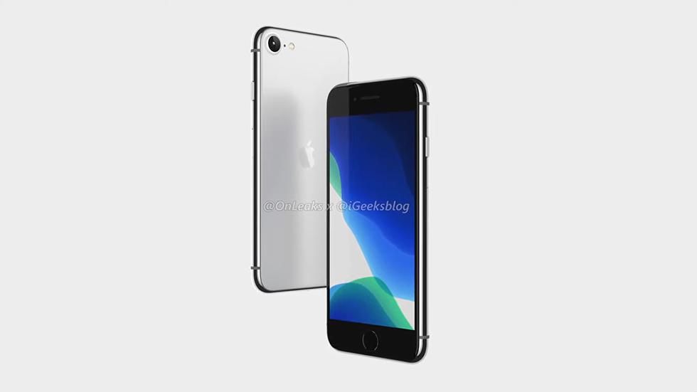 🔥 Точный дизайн iPhone SE2показан навидео