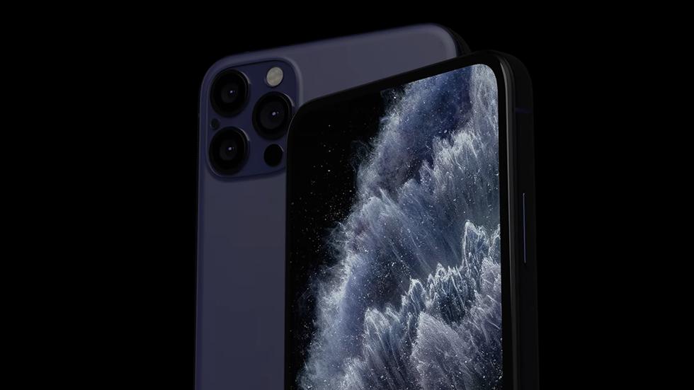 iPhone 12получит дисплей «без рамок» совстроенными камерой иTouchID (LetsGoDigital)