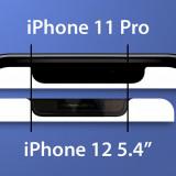 Верхняя рамка дисплея вкомпактном iPhone 12уменьшится
