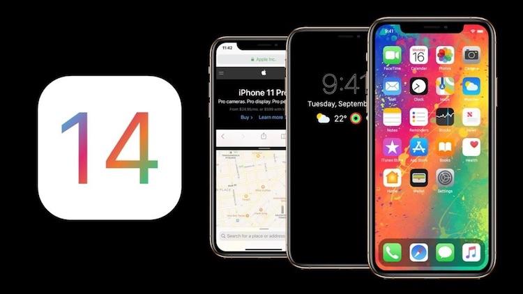 Реклама iOS 14
