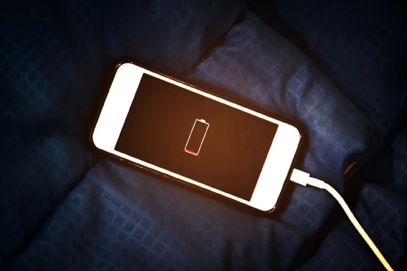 iPhone разряжен
