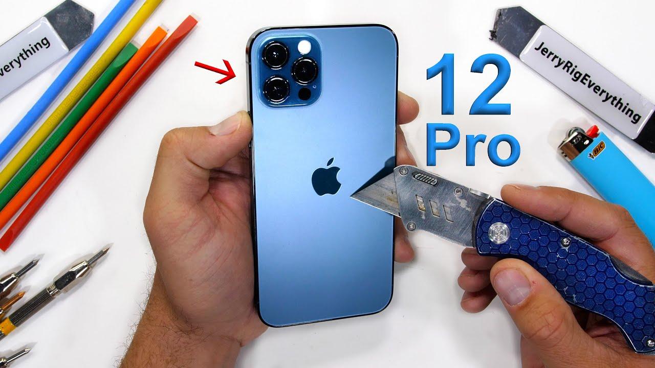 iPhone 12 прошёл тест на царапины. Никаких сенсаций