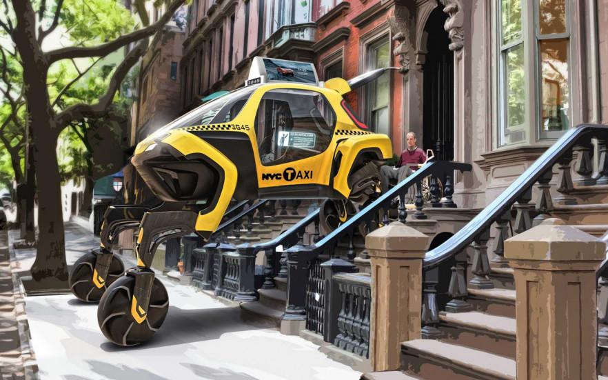 Шагающие автомобили – не выдумка, а ближайшие планы в компании Hyundai