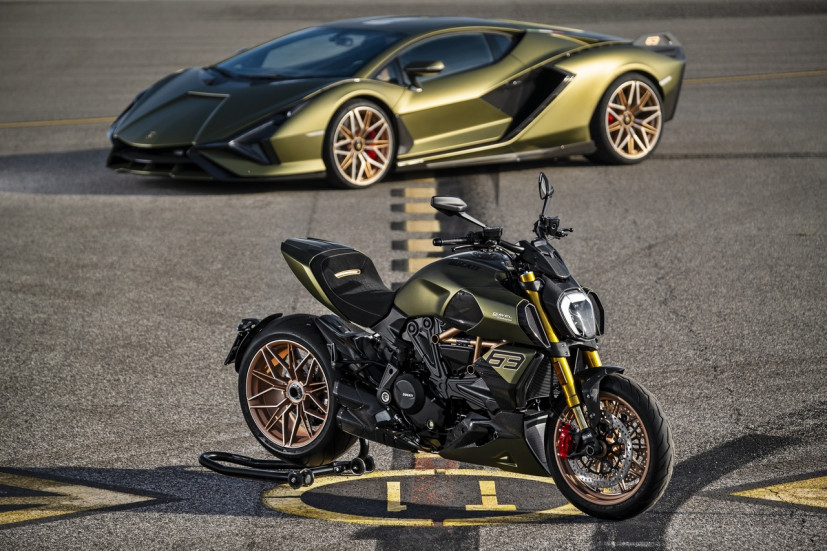 Lamborghini и Ducati вместе сделали крутой лимитированный мотоцикл – Ducati Diavel 1260 Lamborghini