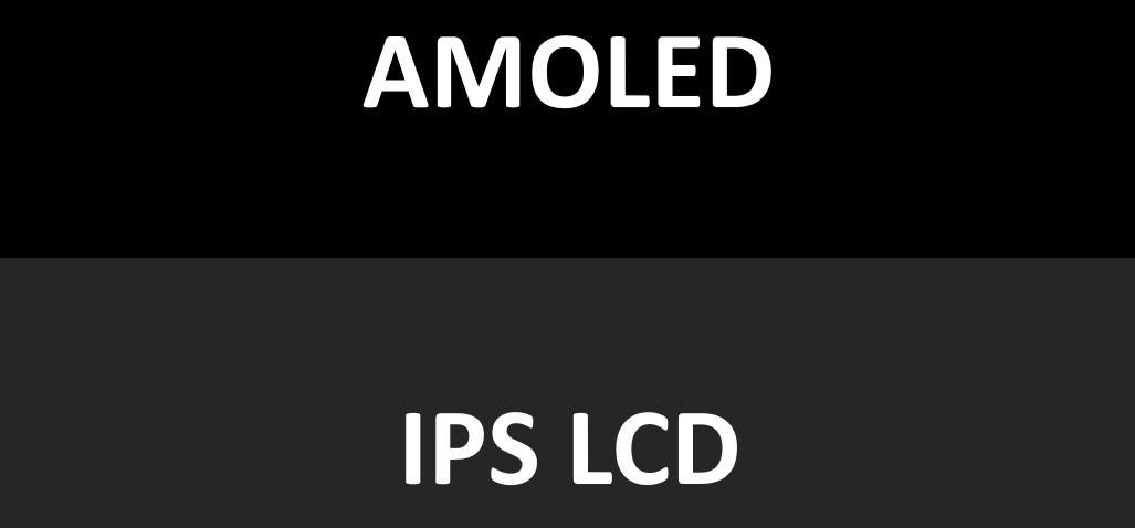 Amoled va IPS