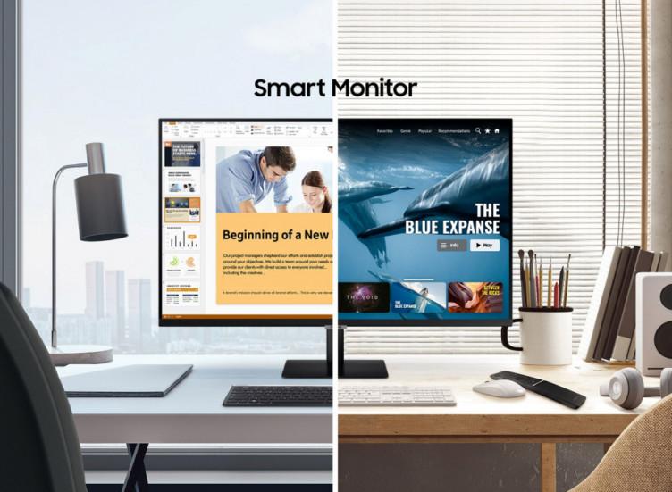 Samsung показала свой новый смартмонитор : днём – он для работы, а вечером – SmartTV