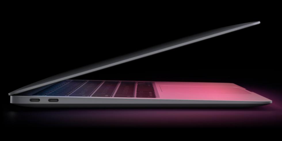 MacBook Air на базе M1 обошел 16-дюймовый MacBook Pro в тестах