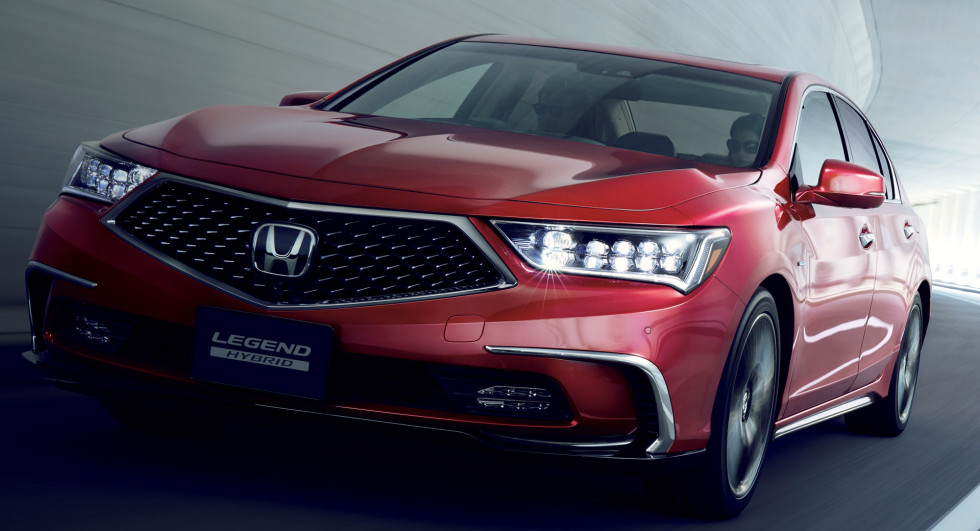 Honda выпускает на рынок свой беспилотный автомобиль
