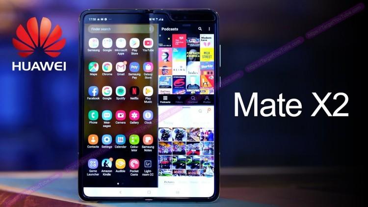 Huawei Mate X2: первые подробности нового складного флагмана