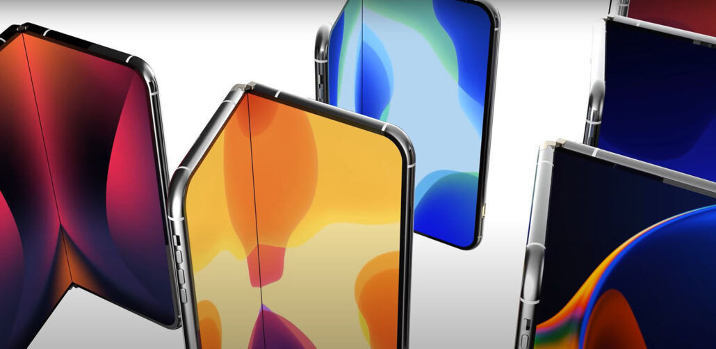 Apple работает над складным iPhone и экранным сканером отпечатков