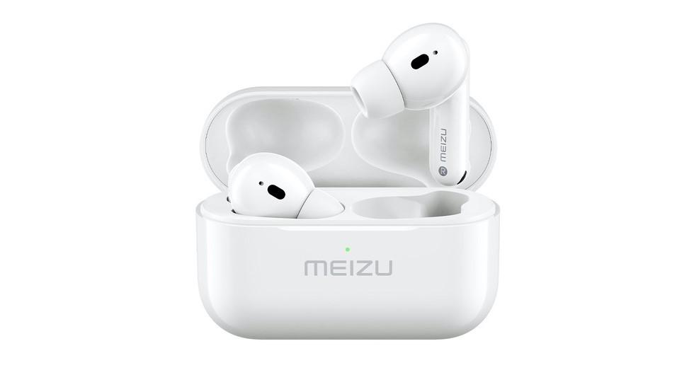 Meizu представила аналог AirPods Pro с активным шумоподавлением