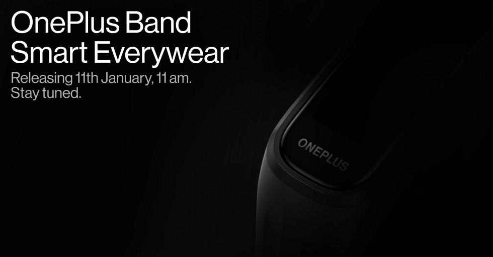 Первый фитнес-трекер OnePlus выйдет 11 января