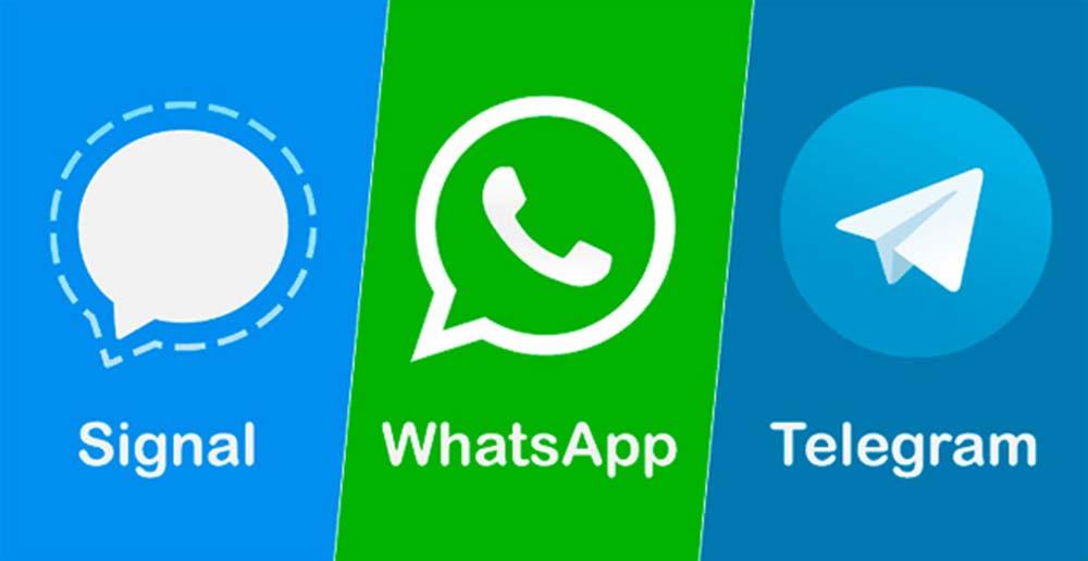 Signal и Telegram ставят рекорды на фоне отказа пользователей от What'sApp