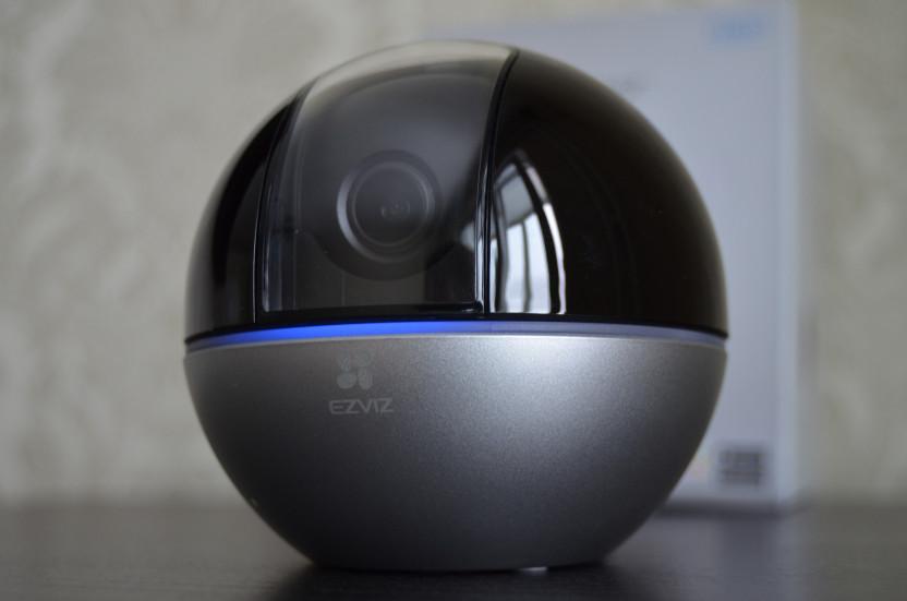 Обзор умной камеры EZVIZ C6W: 360 с онлайном и ночным видением