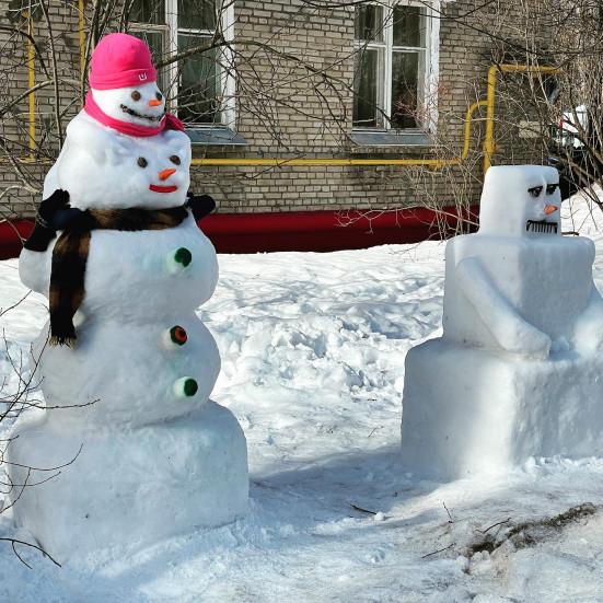Самые крутые снеговики 2021, снятые на iPhone 12 Pro