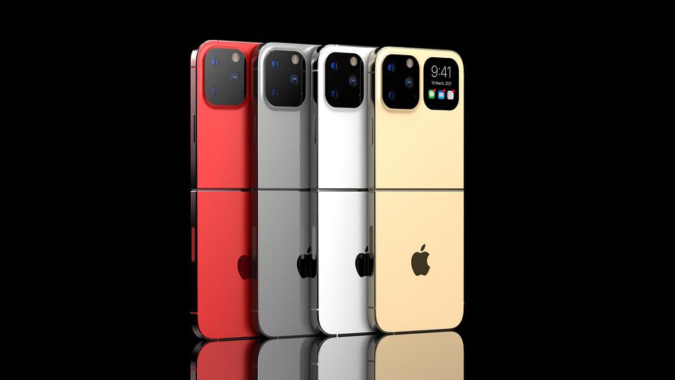 iPhone Flip — сборная солянка из iPhone 12 Pro, Motorola Razr 5G и Samsung Galaxy Z Flip