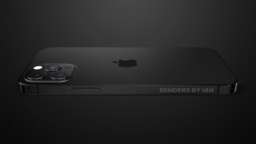 Камера iPhone 13 Pro почернеет — смотрится стильно