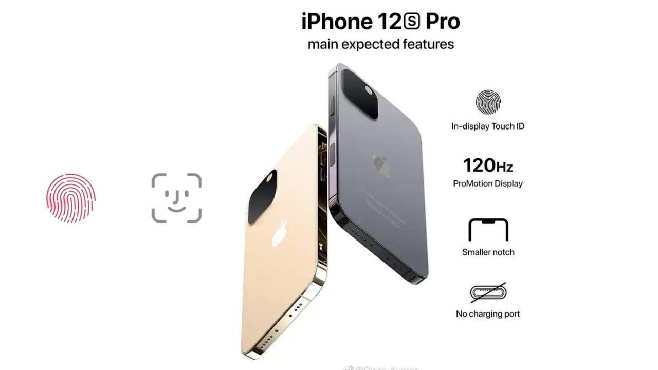 Взгляните на iPhone 12s Pro с уменьшенной челкой