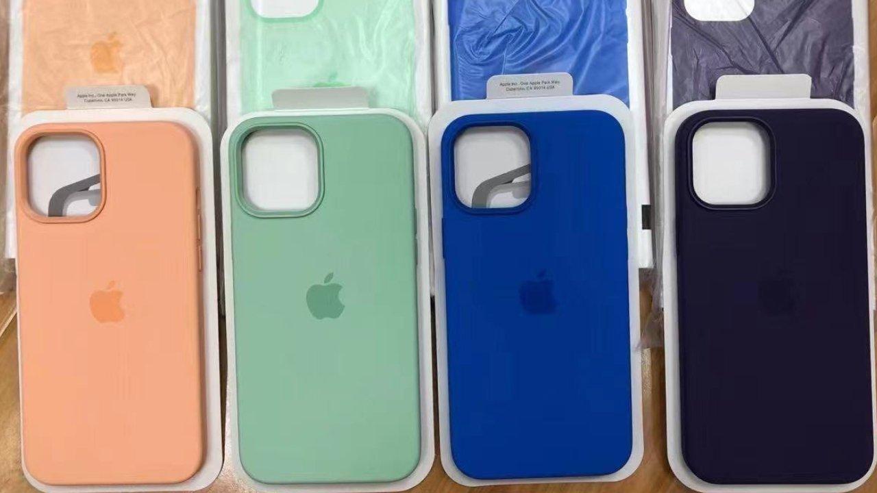 Вот новая весенняя коллекция чехлов для iPhone 12. Есть цвет дыни!