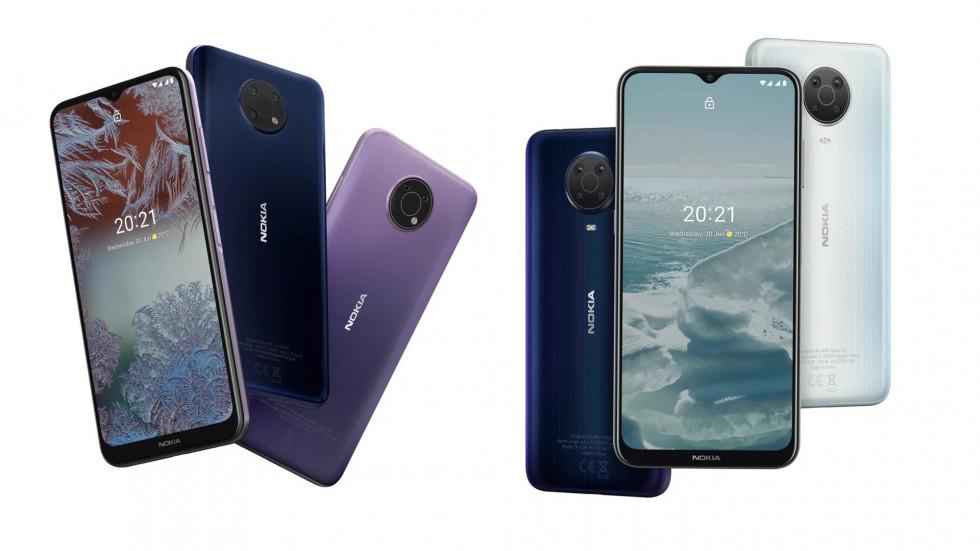 Nokia C10 и C20, Nokia G10 и G20, Nokia X10 и X20 — новые смартфоны Nokia от 7490 до 31 990 рублей