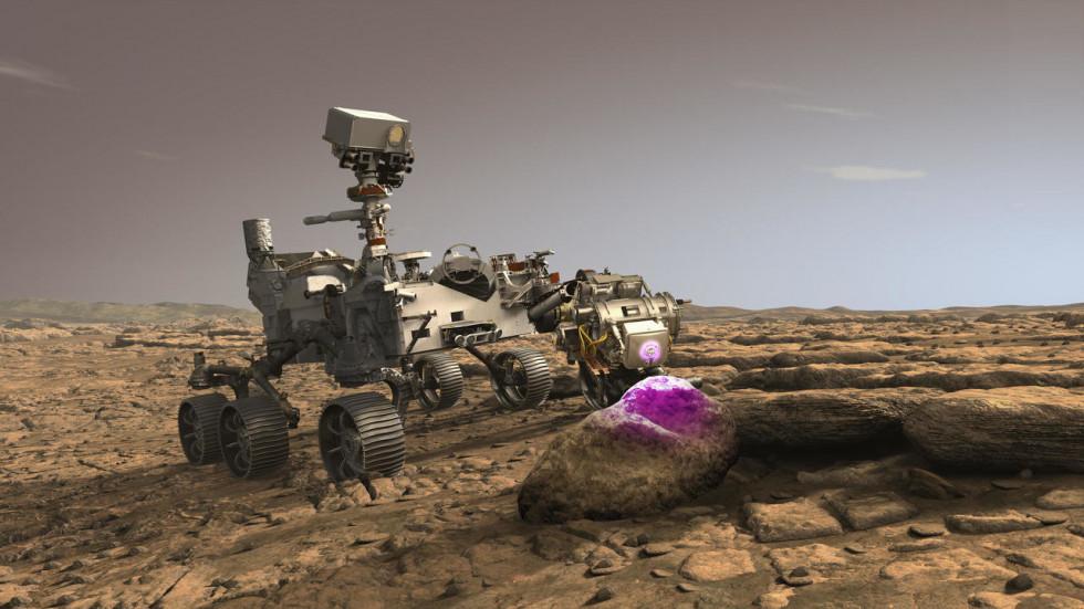 Марсоход Perseverance обнаружил несколько загадочных камней