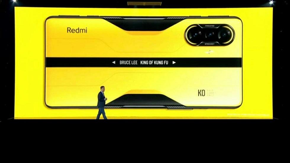 Смартфон в честь Брюса Ли — яркий и быстрый Redmi K40 Bruce Lee Special Edition