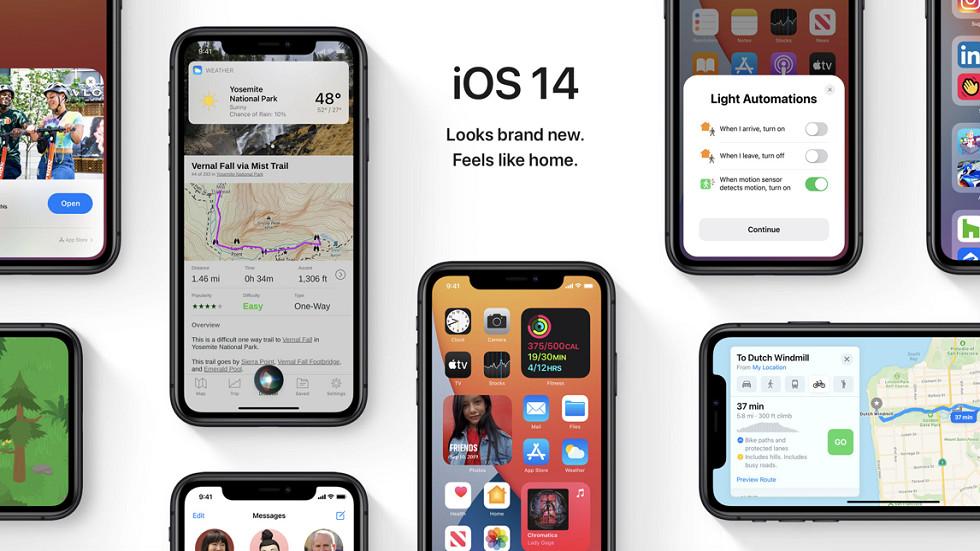 Все в восторге от iOS 14 — она установлена на 90% айфонов