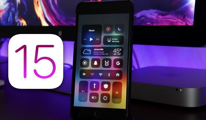 iOS 15 получит обновленный центр управления в стиле macOS Big Sur