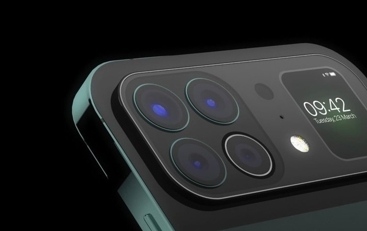 Взгляните на этот странный iPhone с дополнительным экраном