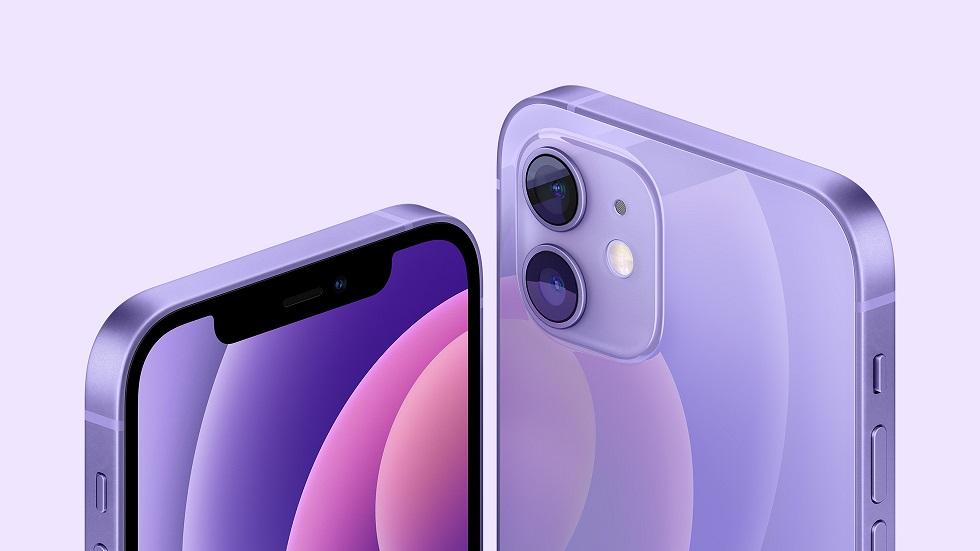 iPhone 12 и iPhone 12 mini в новой расцветке — теперь фиолетовые