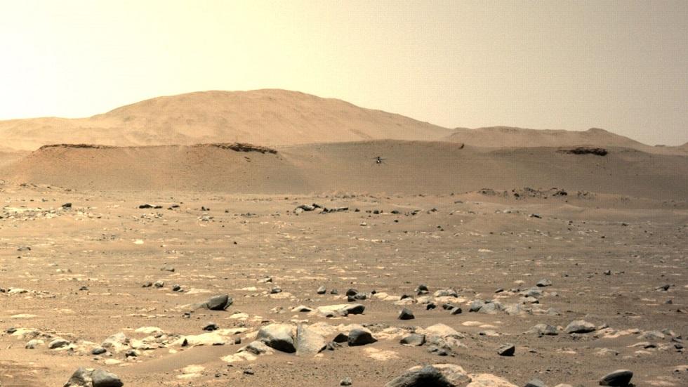 Марсианский вертолет Ingenuity шлет новые фото и видео Марса