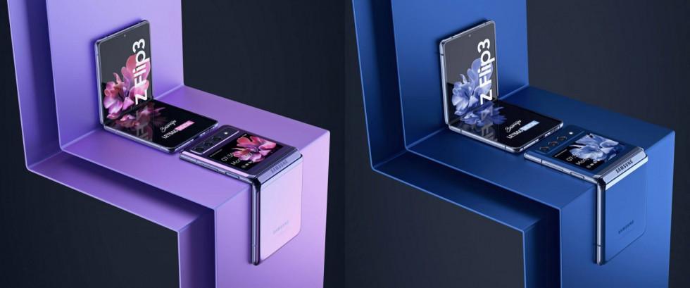 Взгляните на впечатляющие изображения складного Samsung Galaxy Z Flip 3