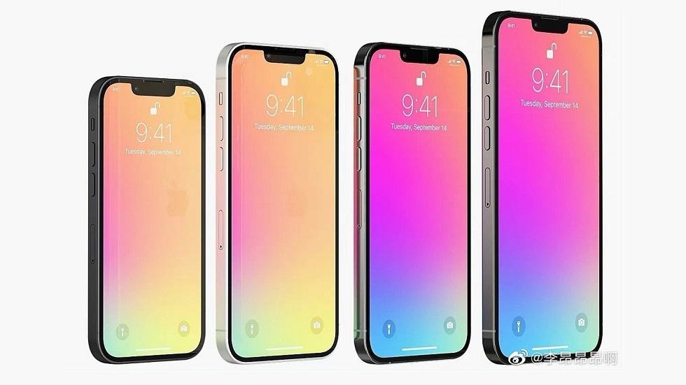 Великолепная четверка — все iPhone 13 на суперкачественных рендерах