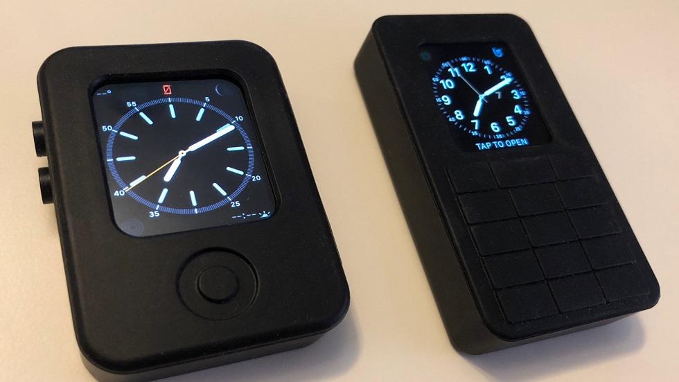 Apple Watch в виде кнопочного телефона — было и такое!
