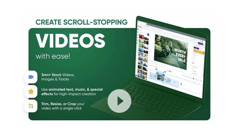 Как сделать видео онлайн в InVideo